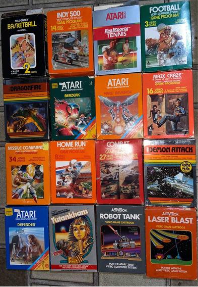 Cartuchos Atari 2600 - Cib