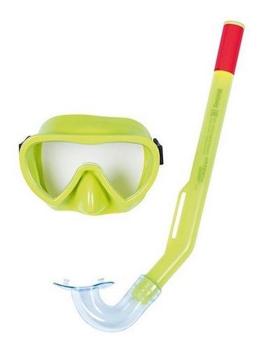 Imagen 1 de 5 de Bestway Set De Snorkel Clasico Hydro Swim Jeg 24036 El Gato