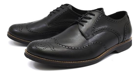 Sapato Oxford Masculino Shoes Grand 100% Couro Promoção