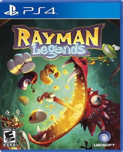 Imagen 1 de 8 de Rayman Legends Juego Ps4 Nuevo Fisico/ Mipowerdestiny