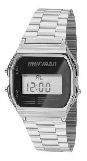 Relógio Mormaii Feminino Mojh02aa/3p Prata