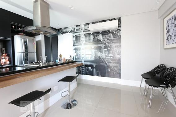 Apartamento No 17º Andar Com 1 Dormitório E 1 Garagem - Id: 892962465 - 262465