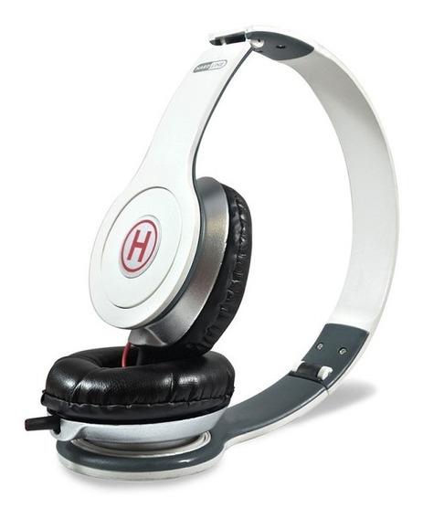 Fone De Ouvido Headset Branco 1,20m Dobrável P2