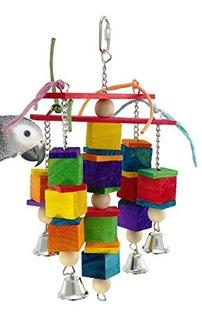 Bonka Bird Toys 1491 Kisses Bird Toy Jaula De Loro Juguet