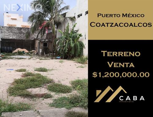 Imagen 1 de 5 de Terreno En Venta En Col. Puerto México, Coatzacoalcos, Ver.