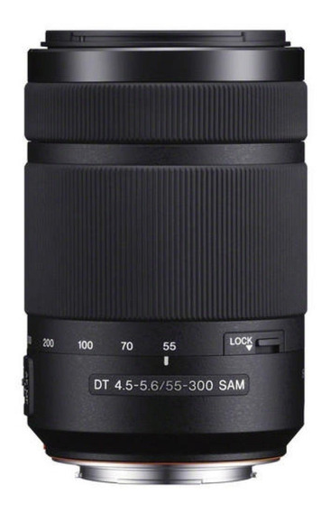 Lente Sony A-mount Dt 55-300mm F/4.5-5.6 Sam