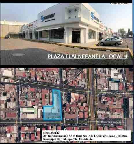 Magnifico Local En Sor Juana Ines Tlalnepantla