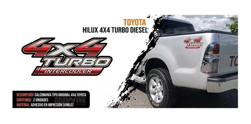Calcomanias Emblemas 4x4 Turbo Originales