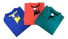Kit 05 Camisa Polo Infantil Masculino Menino 02 Ao 12 Anos