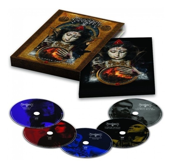 Box Moonspell - Lisboa Under The Spell (blu-ray + Dvd + Cds)