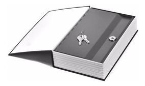 Cofre Livro Camuflado Formato Dicionário Inglês Porta Joias