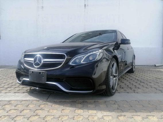 Mercedes-benz Clase E 2014 4p 63 Amg V8/5.5/t Aut