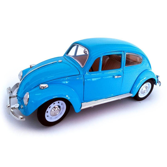 Volkswagen Fusca Escala 1:18 Die Cast Azul