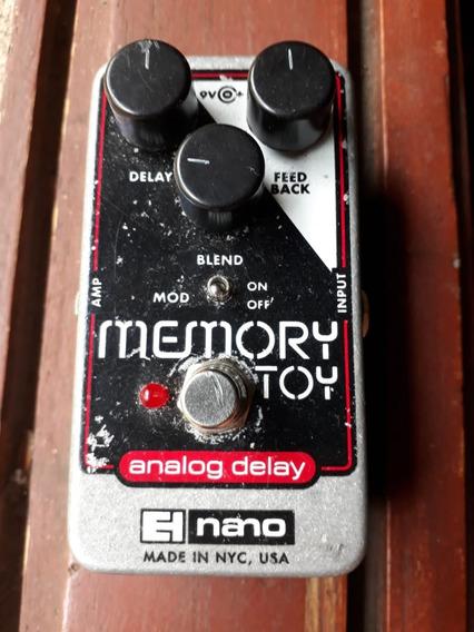 Ehx (electro Harmonix, Nano) Memory Toy,delay Analogico
