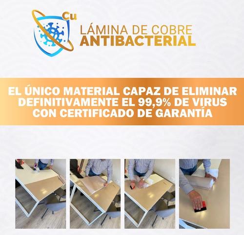Lamina Antibacterial De Cobre - Anti Covid 19