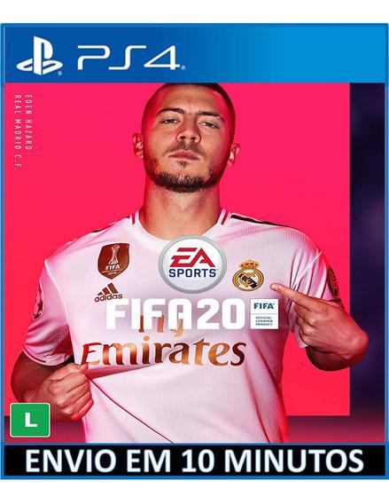 Fifa 20 Ps4 2020 Digital 1 Jogo Em Português Envio Imediato
