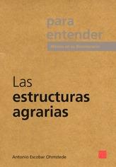 Imagen 1 de 1 de Las Estructuras Agrarias, Pasta Rústica.