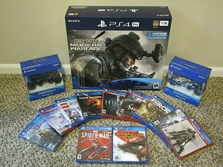 Sony Playstation 4 Pro 1tb Game Console