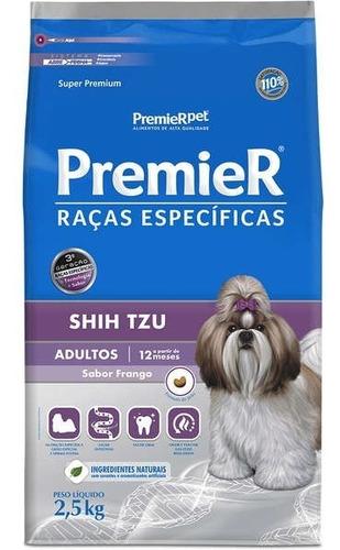 Ração Premier Super Premium Shih Tzu Adulto Frango - 2.5kg