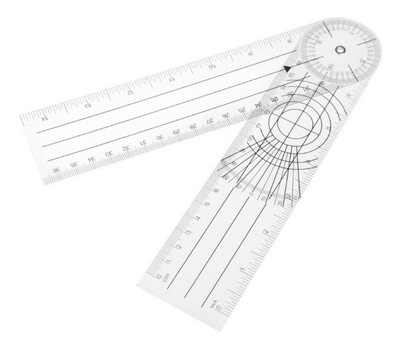 Goniómetro Universal Medición Articulación Grados Angulos