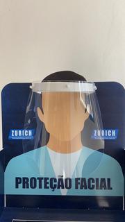Kit 5 Máscaras Protetora Facial Face Shield Articulada