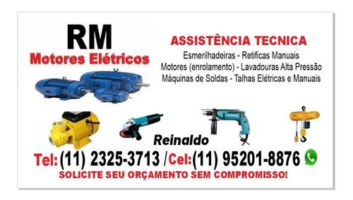 Conserto De Motores Elétricos/ Rebobinamento De Motores