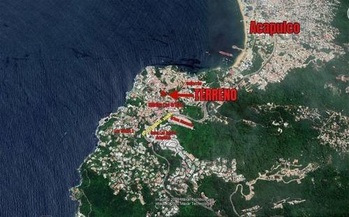 Vendo Terreno Marina Brisas Acapulco