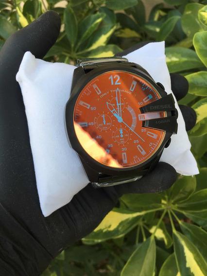 Relógio Dz4318 Preto Bicolor Com Caixa Original