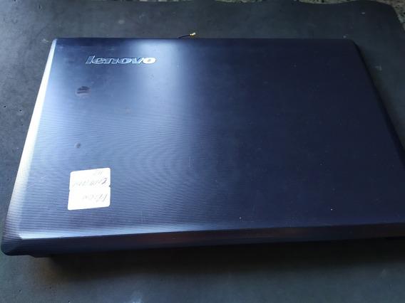 Tampa + Moldura Da Tela Notebook Lenovo G460e