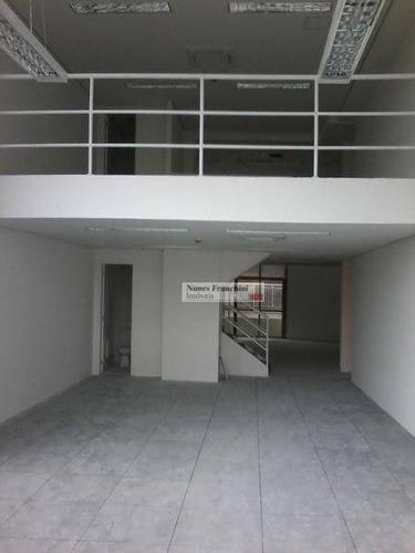 Brooklin-zs/sp - Sala Comercial 173m² Nova, Próximo Estação Cptm - Cj0010