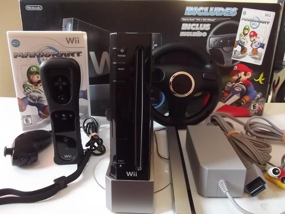Nintendo Wii Excepcional Estado + Caixa E Manuais