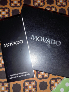 Caja De Carton Protectora De Estuche Reloj Movado