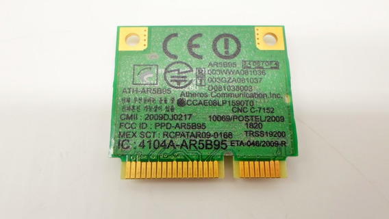 Placa Mini Pci Wifi Wireless Ar5b95 Sony Pcg-61611l