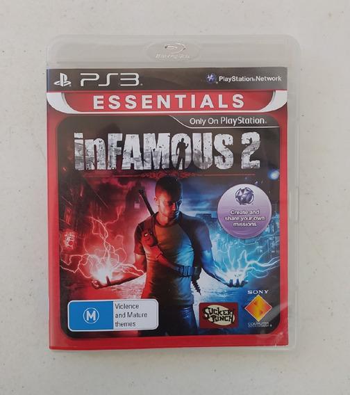 Jogo Infamous 2 - Ps3 - Original - Usado - Playstation 3