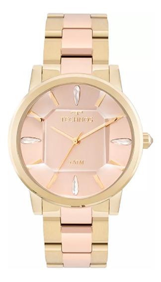 Relógio Technos Feminino Elegance Crystal 2039bs/4t