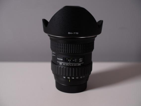 Lente Tokina 11-16mm F2.8 Para Nikon