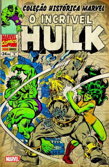 Coleção Histórica Marvel O Incrível Hulk Volume 09 Panini
