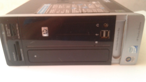 Cpu Hp Pavilion Slimline S3730br Core 2duo Ram 4gb Hd 320
