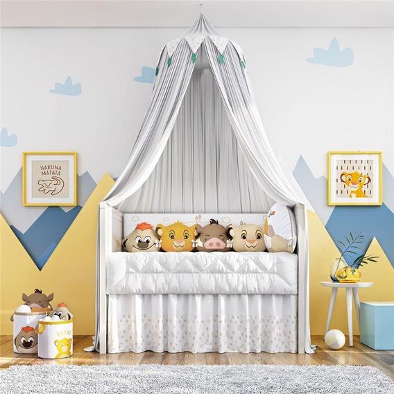 Quarto Bebê Amiguinhos O Rei Leão Disney 26pç Grão De Gente
