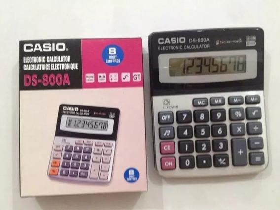 Calculadora Casio Ds-800a Bodeguera 8 Digitos 1 Unidades