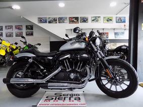 Harley Sporter883 Plateada 2015