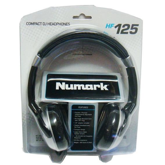 Fone De Ouvido Compacto Para Dj - Numark Hf125