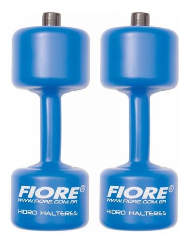 Par Halteres Plástico Hidroginástica 2 Kg Fiore