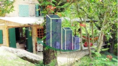 Chalé / Pousada Para Venda Em Petrópolis, Nogueira, 3 Dormitórios, 2 Suítes, 3 Banheiros - Ch16884