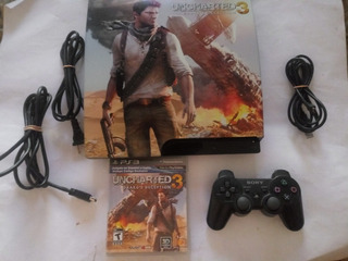 Consola Ps3 Slim 320gb Version Uncharted