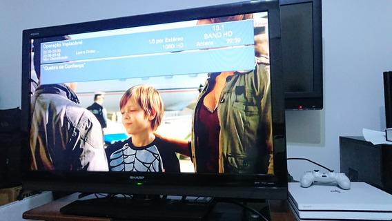 Televisor Sharp Aquos 42p Fullhd Com Conv Integrado.