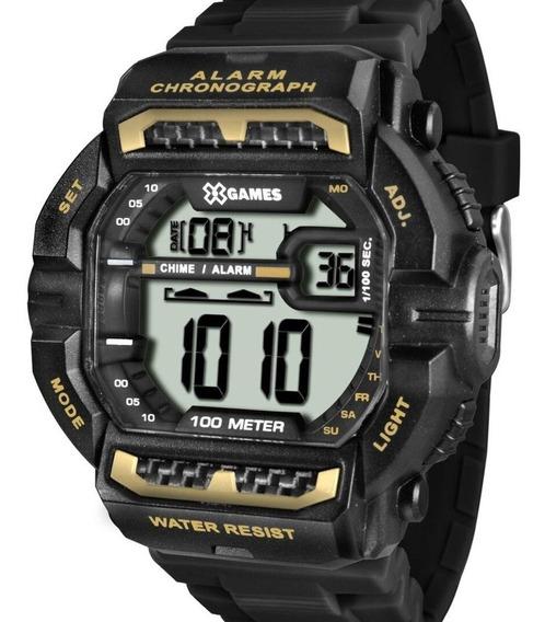 Relógio X-games Masculino Digital Quadrado Original Barato