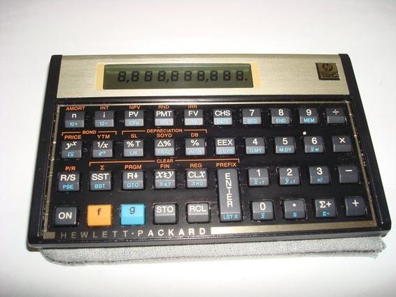 Calculadora Financeira Hp 12c Gold Usada Perfeita