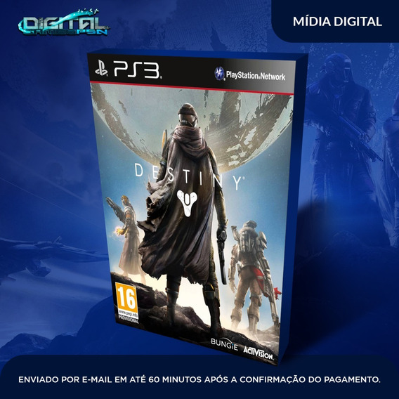 Destiny Ps3 Psn Midia Digital Envio Hj!