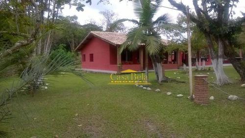 Chácara Rural À Venda, Jardim Das Palmeiras, Itanhaém. - Ch0035